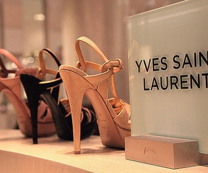 shoes, fashion, and Yves Saint Laurent image