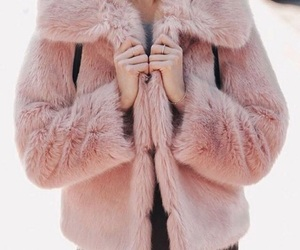 fashion, pink, and jacket image