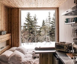 winter, bedroom, and home image