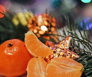 bokeh, christmas, and colors image