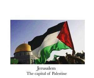 Jerusalem, pray, and palestine image