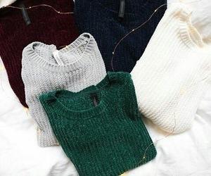 fashion, sweater, and lights image
