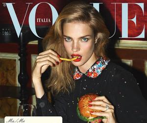 vogue, model, and Natalia Vodianova image