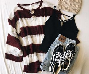 fall, layout, and outfit image