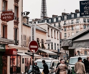 city, place, and paris image