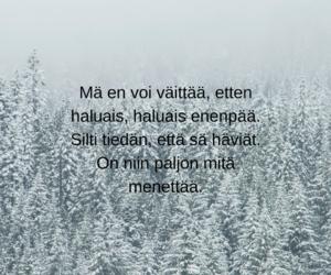 Lyrics, quote, and suomi image