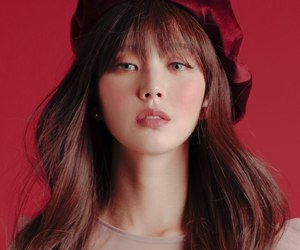 face, korea, and magazine image