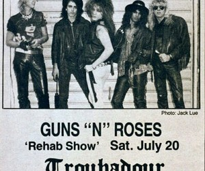 80's, axl rose, and duff mckagan image