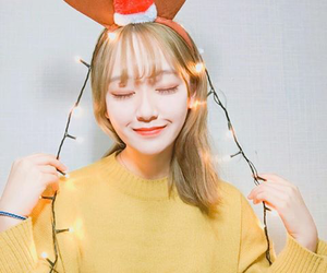 asian, christmas, and girl image
