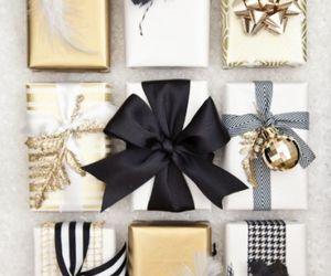 gift, christmas, and present image