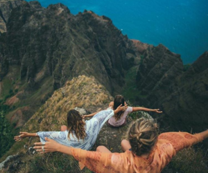 friends, adventure, and travel image