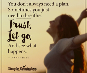 let go, quotes, and mandy hale image