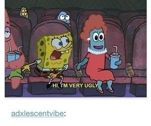 ugly, funny, and spongebob image