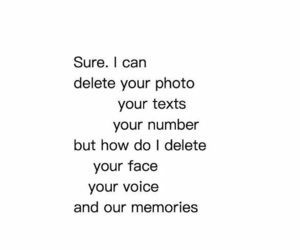 delete, face, and life image