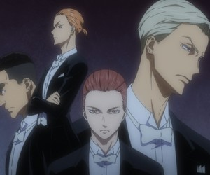 anime, ballroom, and dance image