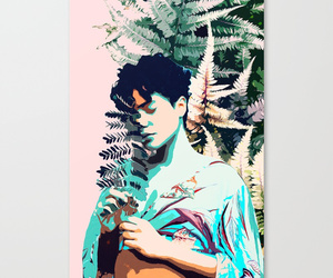 canvas, homedecor, and society6 image