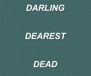aesthetic, darling, and dear image