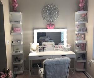vanity, home, and makeup image