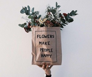 flowers, plants, and happy image