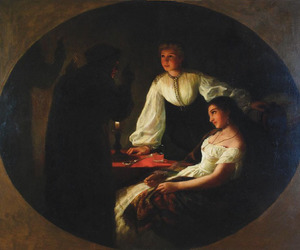 fortune telling, painting, and pl image