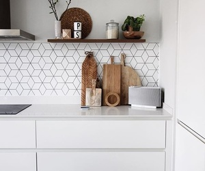 kitchen, scandinavian interior, and home image