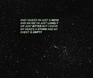 quotes, stars, and mess image