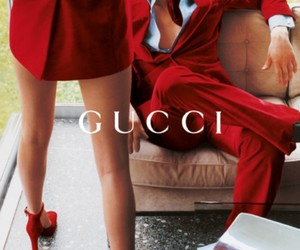 gucci, red, and fashion image