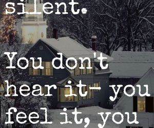 believe, silent, and cristmas image