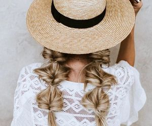 fashion, hair, and inspiration image
