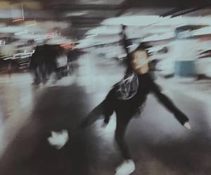 alone, blurred, and girl image