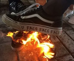 fire and vans image