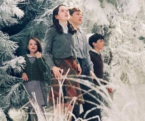 narnia, movie, and snow image