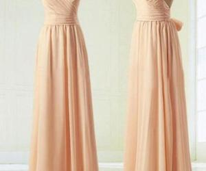 pink dress, Prom, and prom dress image