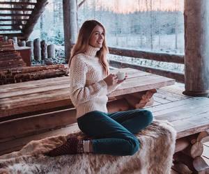 christmas, snow, and winter fashion image