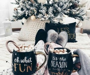beautiful, christmas, and hot ​chocolate image
