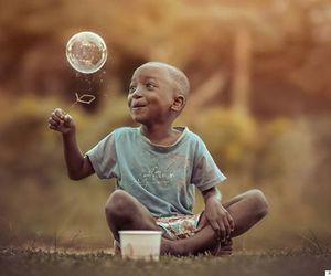 boy, bubble, and child image