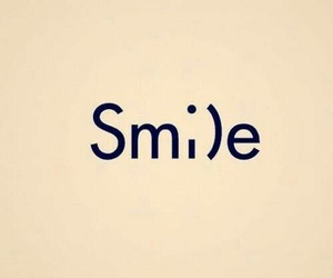 happy, smile, and tumblr image