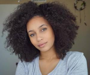 natural hair, afro hair, and kinky curly hair image