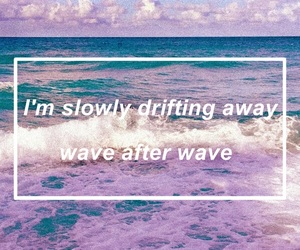 quote, lockscreen, and wave image