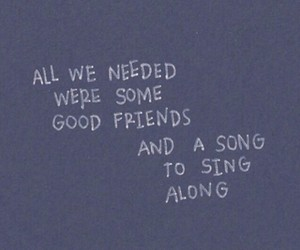 friends, quotes, and song image