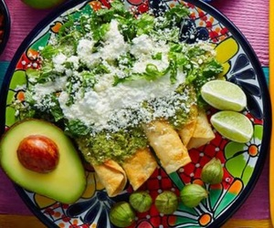 avocado, delicious, and méxico image