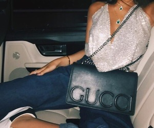dope, glamours, and gucci image