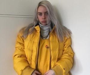 billie eilish, girl, and hair image