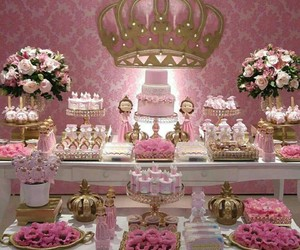party, cake, and candy bar image