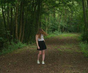 girl, nature, and tumblr image