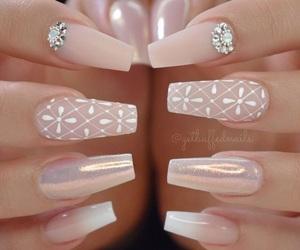nails, beautiful, and fashion image