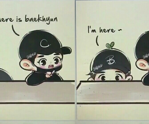 exo, chanbaek, and exo fanart image