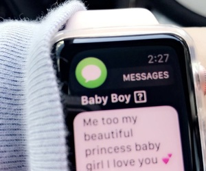 apple, baby, and beautiful image