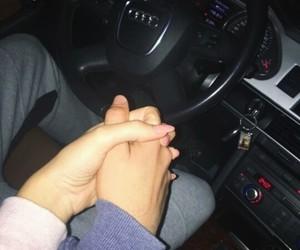 love car casal couple image