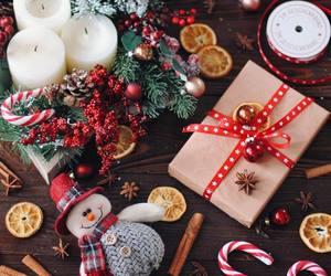 christmas, holiday, and candle image